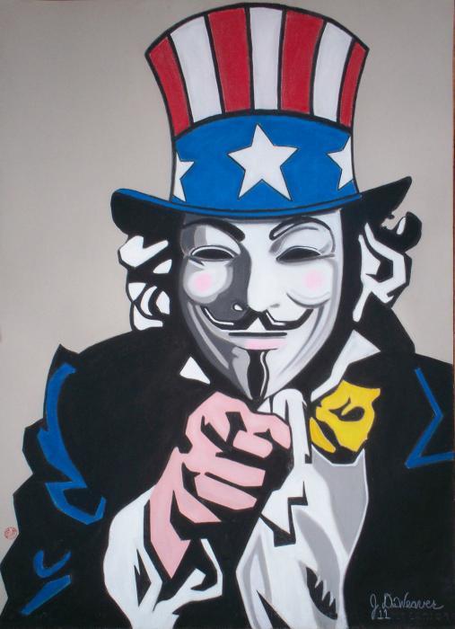 Uncle Sam por JennyB.
